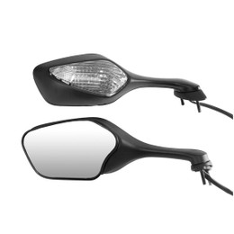 EMGO OEM Replacement Mirror for 08-09 Honda CBR1000RR Right Side Black