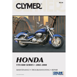 Clymer M230 Service Shop Repair Manual Honda VTX1800 Series 2002-2008