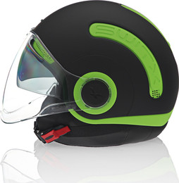 Nexx SX10 Switx10 Neon Green Helmet