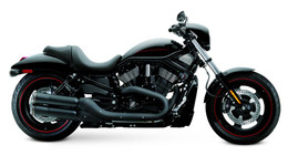 Supertrapp FatShots 2:2 Slip-On Exhaust Black HD Night / Street Rod 06-13
