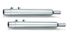 Kerker Slip-On Exhaust 2:2 Chrome HD FLSTS / C  Mikuni Core 97-07
