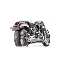 Supertrapp V-5 2:1 Full Exhaust System HD VRSCA / SE V-ROD 02-06 Chrome
