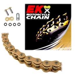 EK 520SRO6 Gold O-Ring Motorcycle Chain (Clip Master)