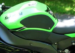 TechSpec Snake Skin Gripster 4 Piece Grip Kit for Kawasaki ZX-6R 09-12