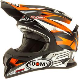 Suomy Carbon Alpha Bike Orange Helmet