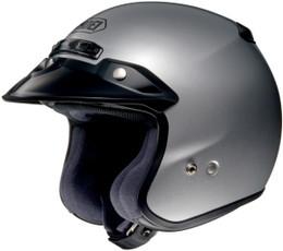 Shoei RJ-Platinum R Light Silver Helmet
