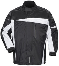 Tourmaster Defender 2.0 Black Two-Piece Rain Suit