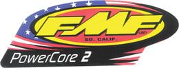 FMF EXHAUST 2-STROKE POWERCORE 2 DECAL (012694)