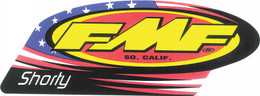 FMF EXHAUST 2-STROKE SHORTY DECAL (012696)