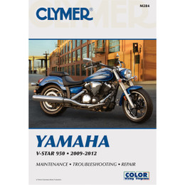 Clymer M284 Service Shop Repair Manual V-Star 950 2009-2012