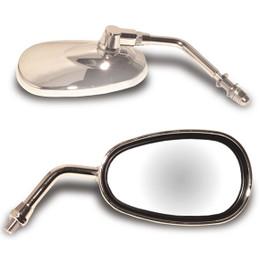 EMGO Lil Cruiser Mirror with 10MM Threads Chrome (20-86835)