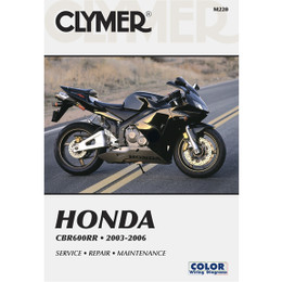 Clymer M220 Service Shop Repair Manual Honda CBR600RR 2003-2006