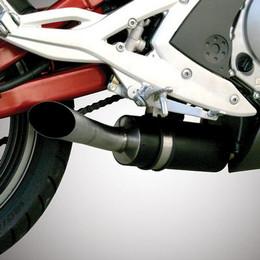 Jardine GP1 Polished Slip On Exhaust Kawasaki Ninja EX650R / Versys KLE650 06-11