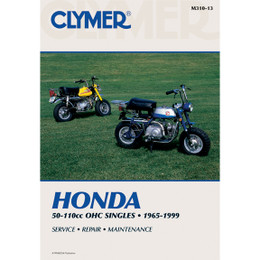 Clymer M310-13 Service Shop Repair Manual Honda 50-110cc OHC Singles 1965-1999