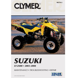 Clymer M270-2 Service Shop Repair Manual Suzuki LT-Z400 2003-2008