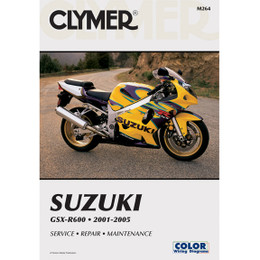 Clymer M264 Service Shop Repair Manual Suzuki GSX-R600 2001-2005