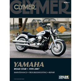 Clymer M282-2 Service Shop Repair Manual Yamaha Road Star 1999-2007