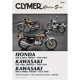 Clymer M305 Service Shop Repair Manual Vintage Japanese Street Bikes