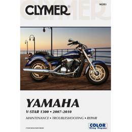 Clymer M283 Service Shop Repair Manual Yamaha V-Star 1300 2007-2010