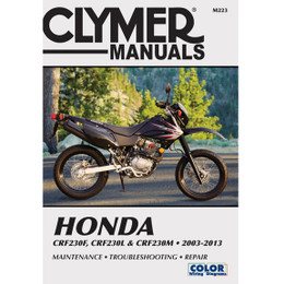 Clymer M223 Service Shop Repair Manual for Honda CRF230F 03-13