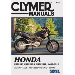 Clymer M223 Service Shop Repair Manual for Honda CRF230F 03-13