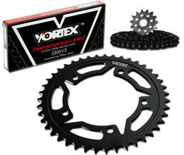 Vortex CK4121 Chain and Sprocket Kit WSS KAW ZX600E (ZX-6) 93-05 (STK,STL)