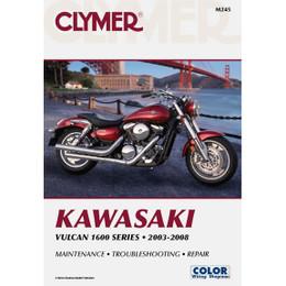 Clymer M245 Service Shop Repair Manual Kawasaki Vulcan 1600 Series 2003-2008
