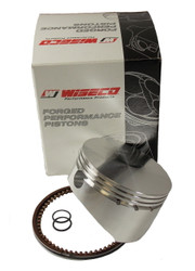 "17-2677XC 2.677"" 3 Ring Wisco Piston W/Rings and Clips No Pin"