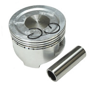 DJ-0219 OHV 212cc  Dished 70mm Piston W/wrist pin & clips