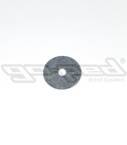 "1/4""x1-1/2""x1/8"" Steel Washer, zinc plated"