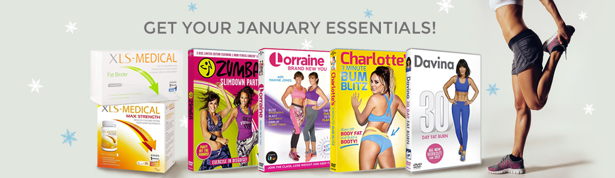 Get your post-Christmas essentials: fitness DVD and XLS Medical