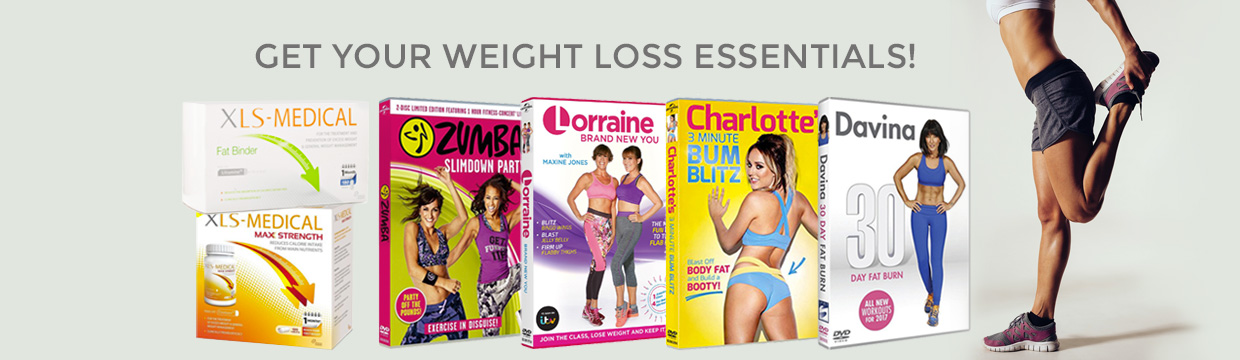 Get your weight loss essentials: fitness DVD and XLS Medical