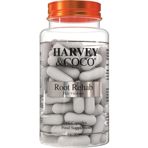 Root Rehab - Natural Hair Growth Vitamins For Women & Men - Front