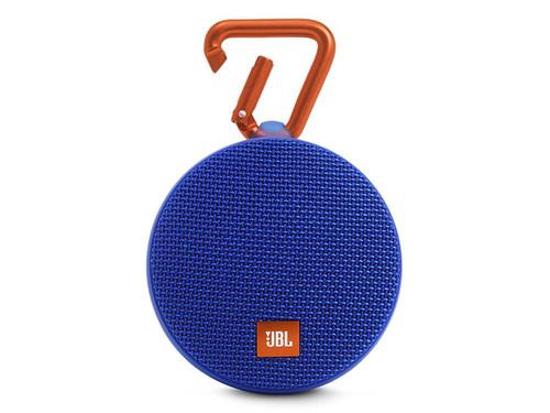 JBL Clip 2 Waterproof Ultra Portable Wireless Bluetooth Speaker - Blue