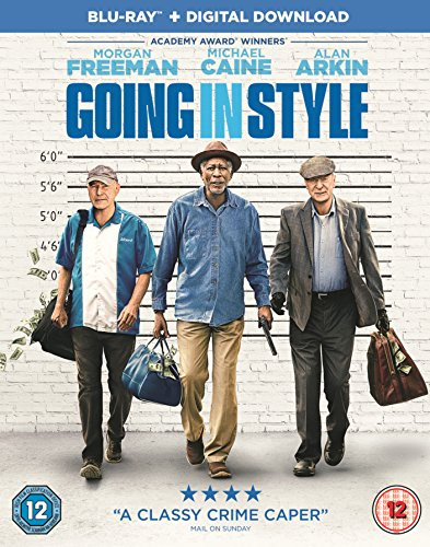 Going in Style [Blu-ray] [2017] - Cover