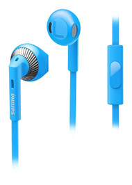 Philips SHE3205BL In-Ear Headphones with Microphone