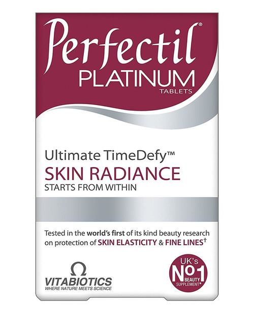 Vitabiotics Perfectil Platinum - 60 Tablets - Front