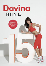 Davinia: Fit in 15 [DVD] [2013] - Cover