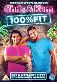 Chris & Kem 100% Fit [DVD] - Cover