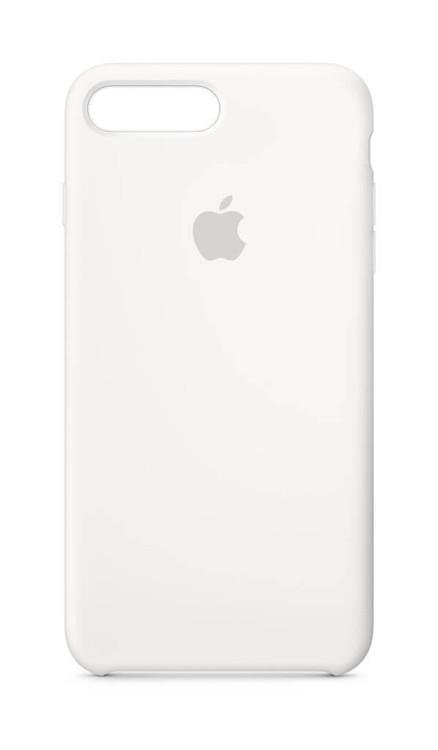 Apple Silicone Case for iPhone 7 Plus & 8 Plus - White