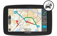 TOMTOM GO 520 5Sat Nav with Worldwide Maps & Case Bundle