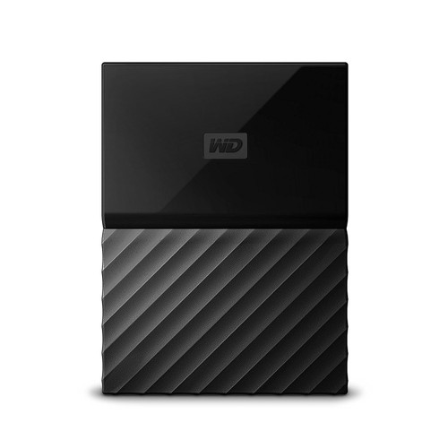 WD My Passport Portable Hard Drive and Auto Backup Software Black