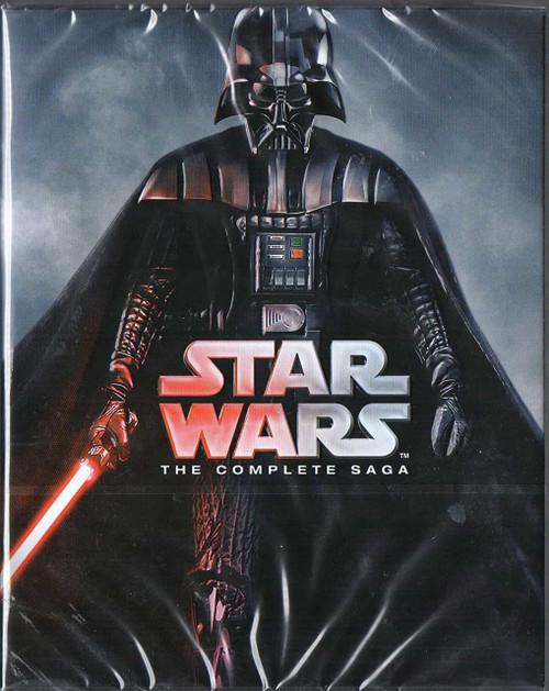 Star Wars - The Complete Saga [Blu-ray]Region Free