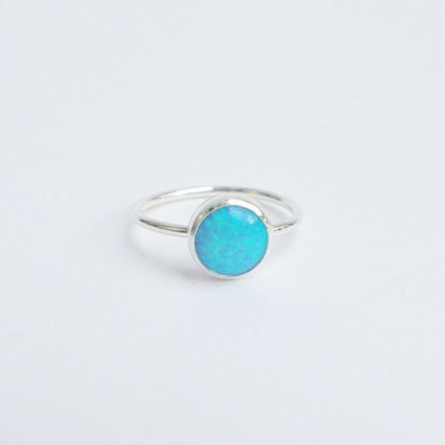 Sea Blue Opal