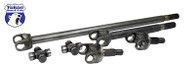 Yukon front 4340 Chrome-Moly replacement axle kit for Dana 44, '80-'92 Wagoneer, Dana 44 with 19/30 splines.