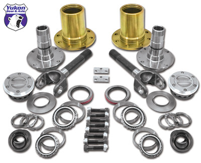Spin Free Locking Hub Conversion Kit for Dana 60 & AAM, 00-08 SRW Dodge