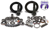 Yukon Gear & Install Kit package for Jeep TJ with Dana 30 front and Dana 44 rear, 4.56 ratio.