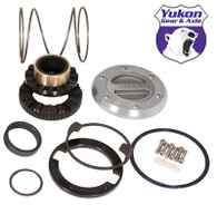 Yukon Hardcore Locking Hub set for '00-'08 Dodge 1-ton front with Spin Free kit, 1 side only