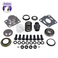 Replacement king-pin kit for Dana 60(1) side (pin, bushing, seals, bearings, spring, cap).