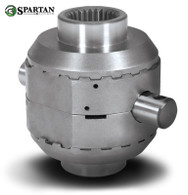 "Spartan locker for GM 8.5"" with 28 spline axles, includes heavy-duty cross pin shaft."